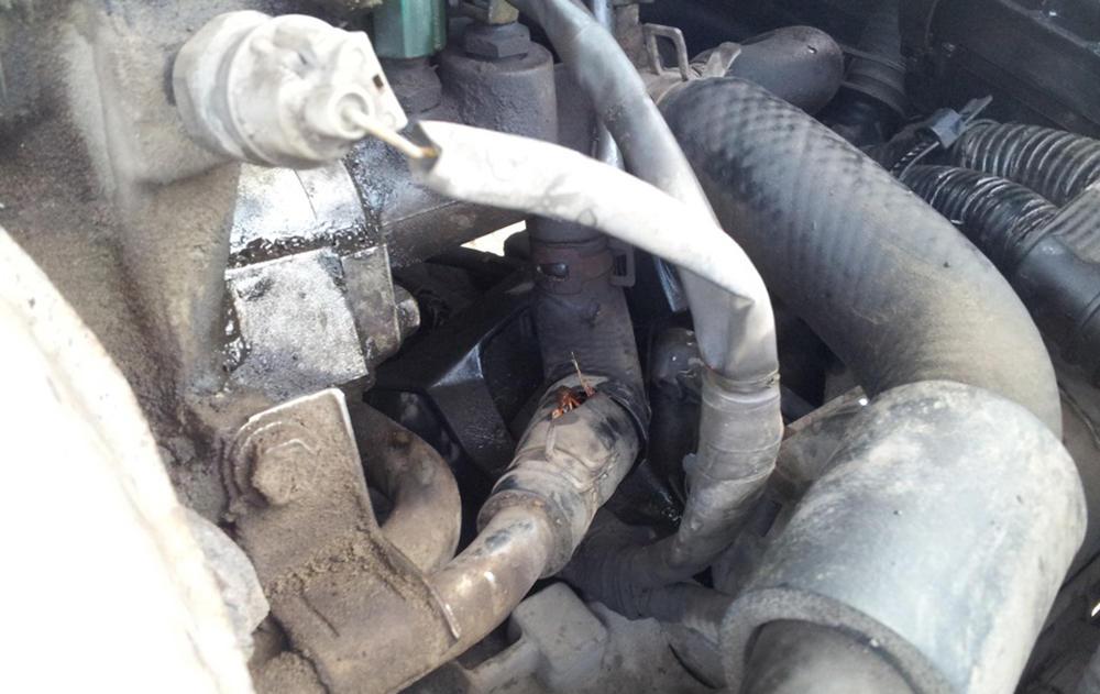 Что делать с плохо греющей печкой в Toyota Corona