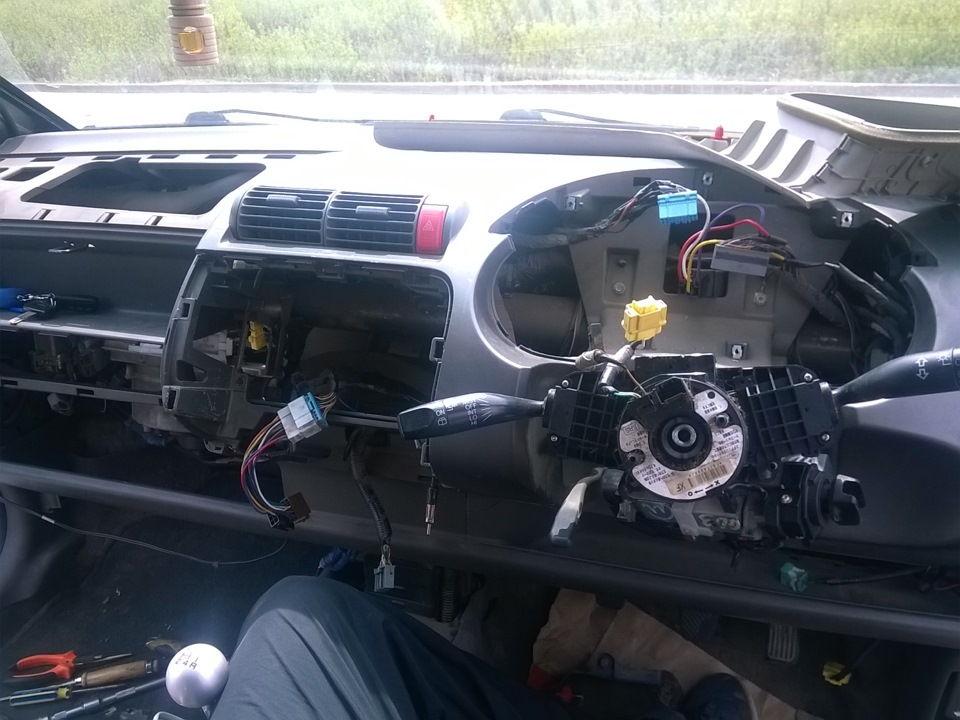 Как можно исправить плохо работающую печку Honda Fit