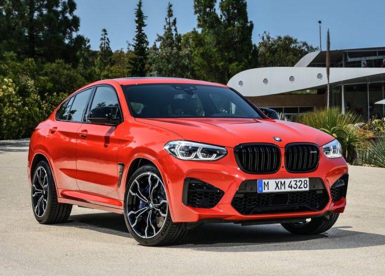 BMW X3 M и BMW X4 M – новинки от немецкого производителя