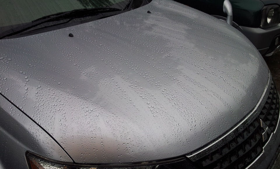 Как самостоятельно изготовить средство антидождь для своего автомобиля