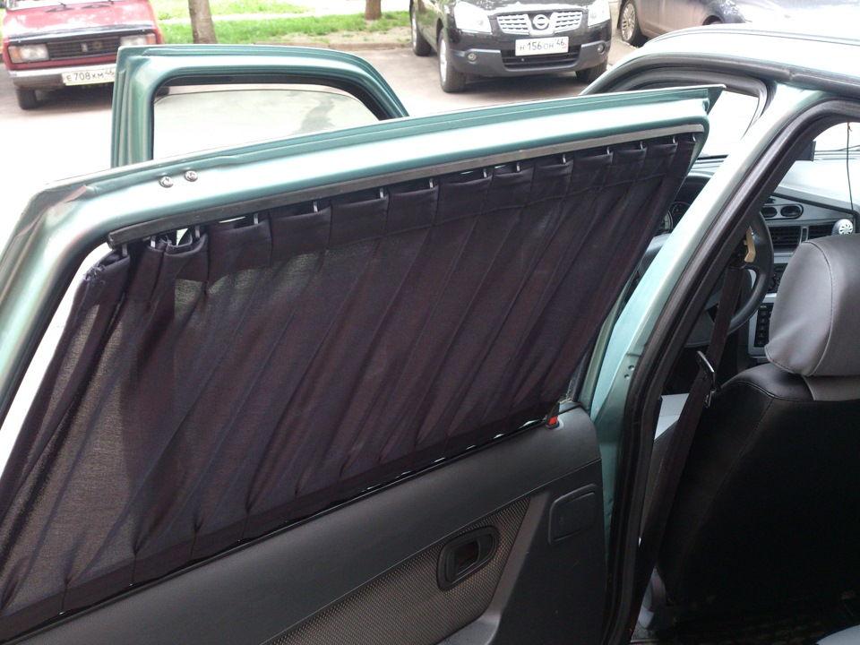 Как сделать самодельные шторки в машину