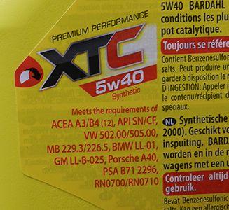 Bardahl 5w40 xtc: синтетика для тяжёлых условий эксплуатации