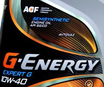 G Energy Expert G 10w 40: масло для двигателей с большим пробегом
