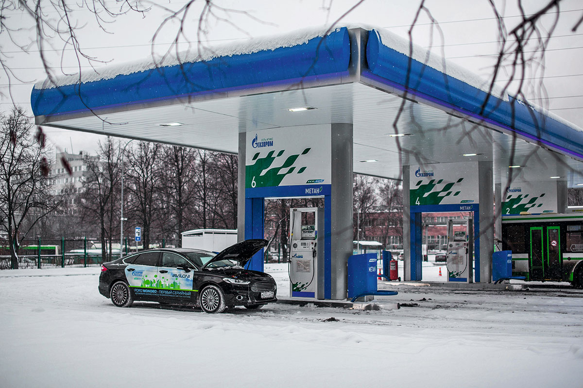 Тест-драйв Ford Mondeo CNG. На метане дешевле
