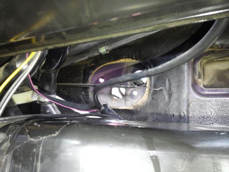 Демонтаж и замена краника печки УАЗ