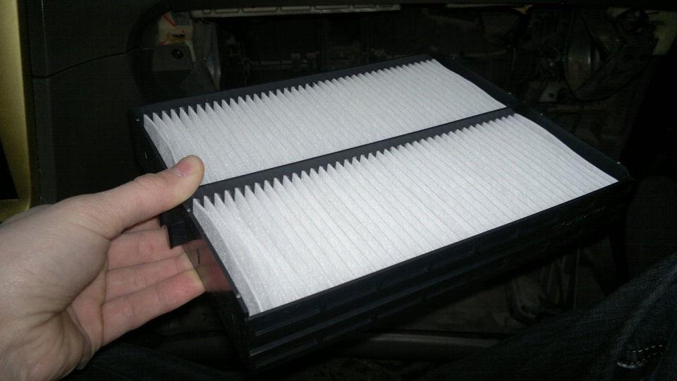 Особенности замены салонного фильтра на автомобилях Hyundai Sonata TagAZ