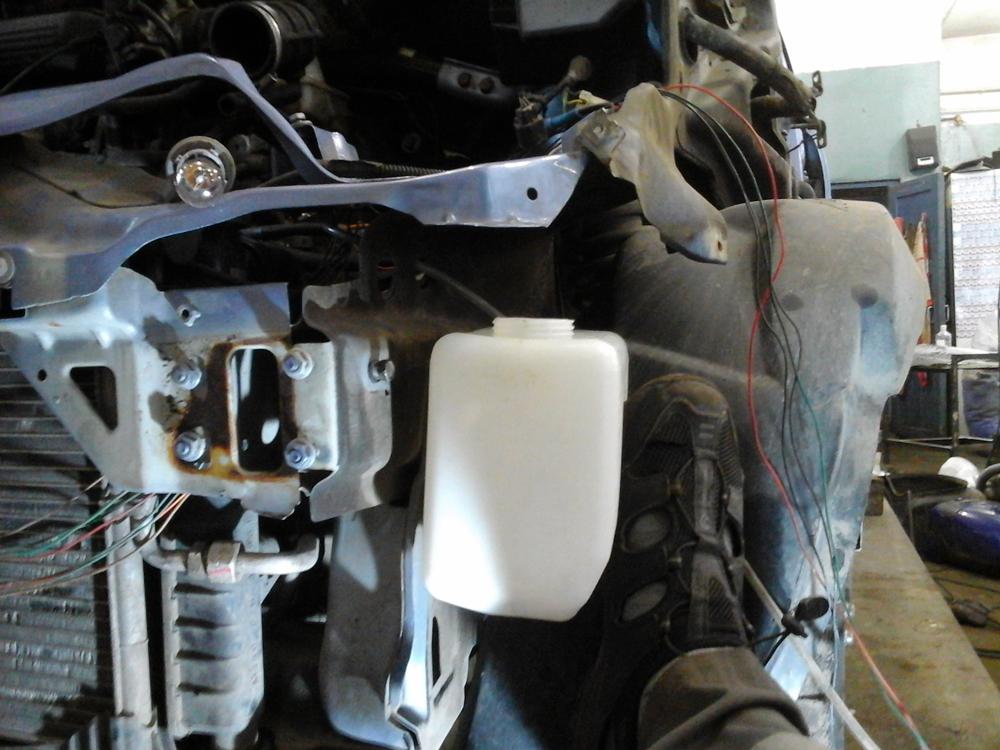 Как быстро разморозить омыватель на машине