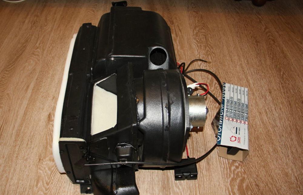 Как поменять моторчик печки на УАЗ Буханка