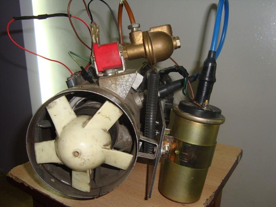 Как самостоятельно переделать печку ЗАЗ для работы на газе
