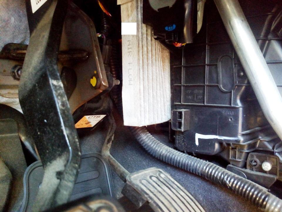 В чём особенность замены фильтра салона на автомобилях Renault Koleos