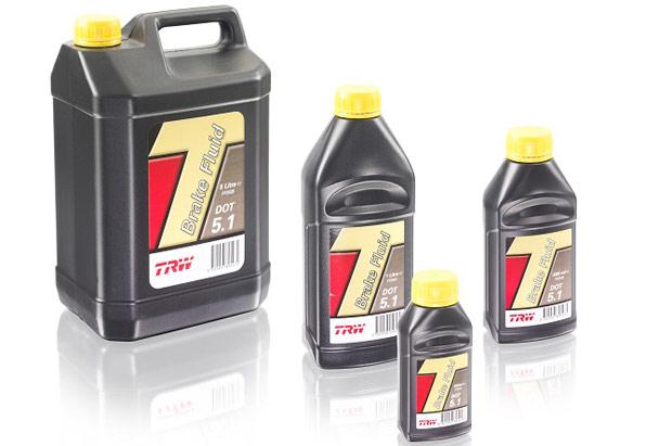 Тормозные жидкости от компании TRW