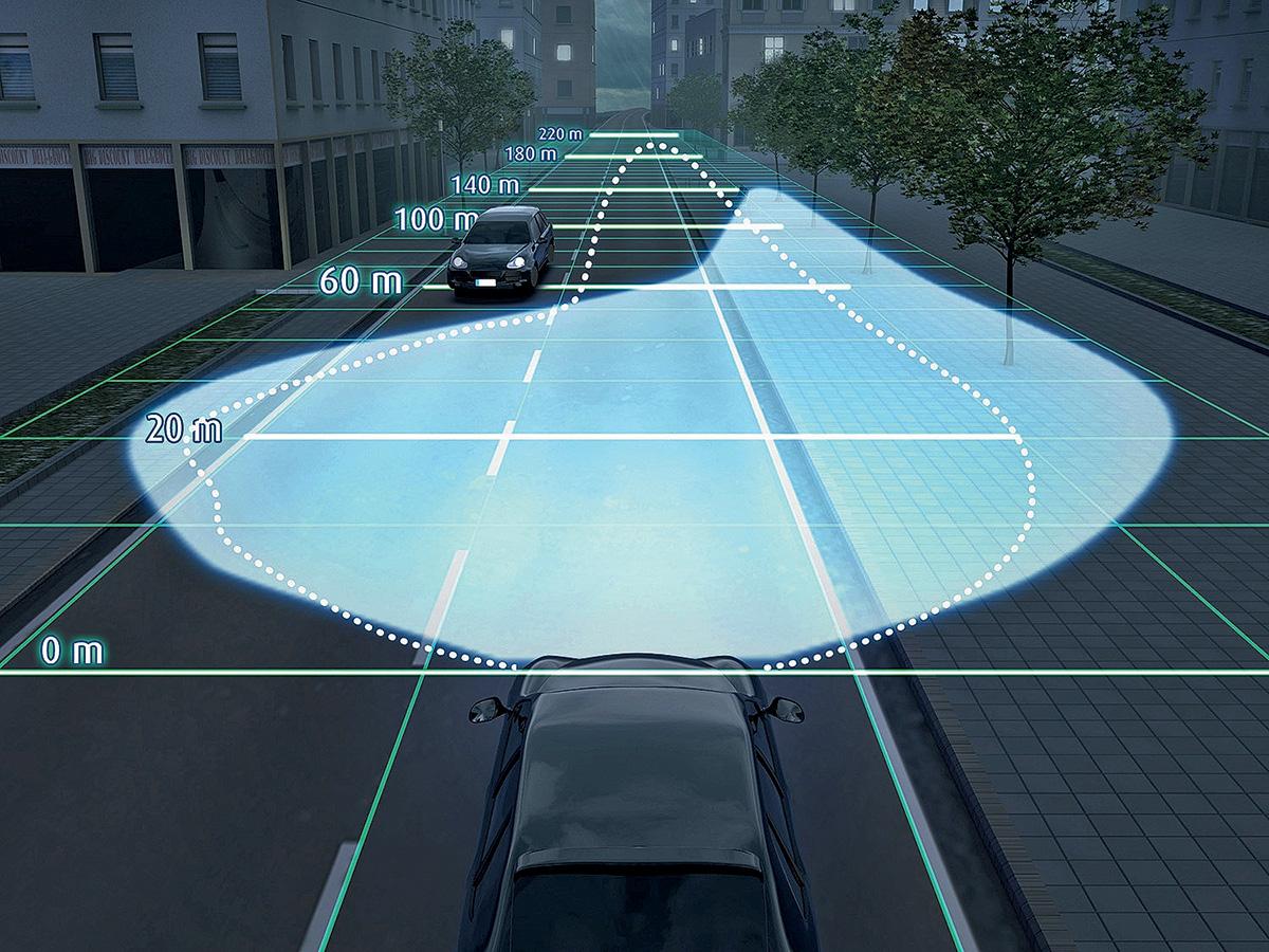 Умные фары: как работает адаптивный свет на автомобиле