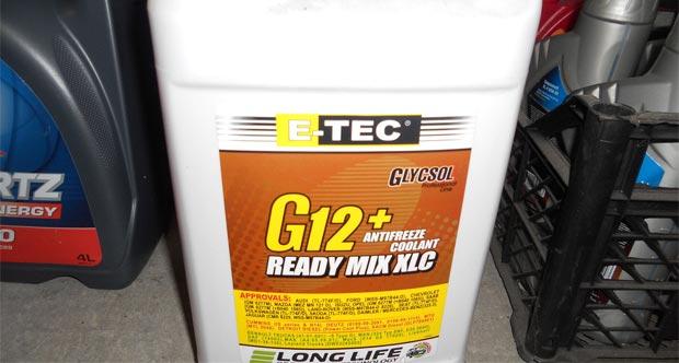 Можно ли смешивать антифриз G12 и G12+?