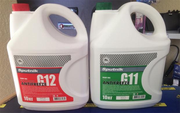 Можно ли смешивать антифриз G11 и G12?