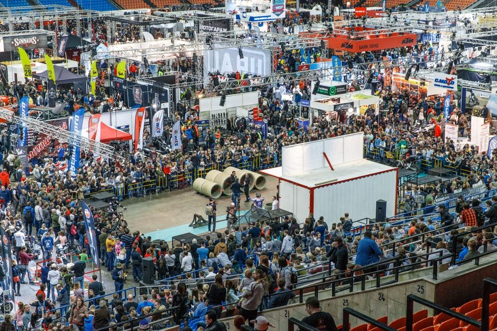 Международная выставка «Мотовесна-2019» - ближе к центру!