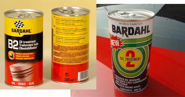 Присадки Bardahl B2 и Bardahl B1. Технология работы