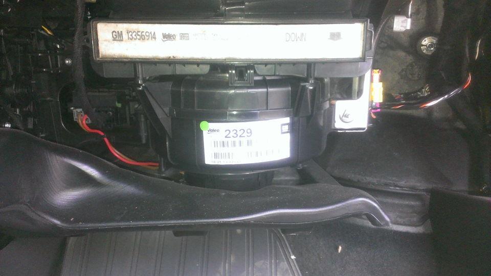 Замена салонного фильтра Opel Meriva своими руками