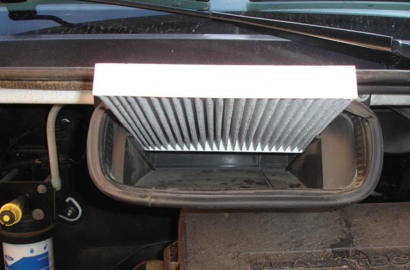Как поменять фильтр салона Opel Vectra