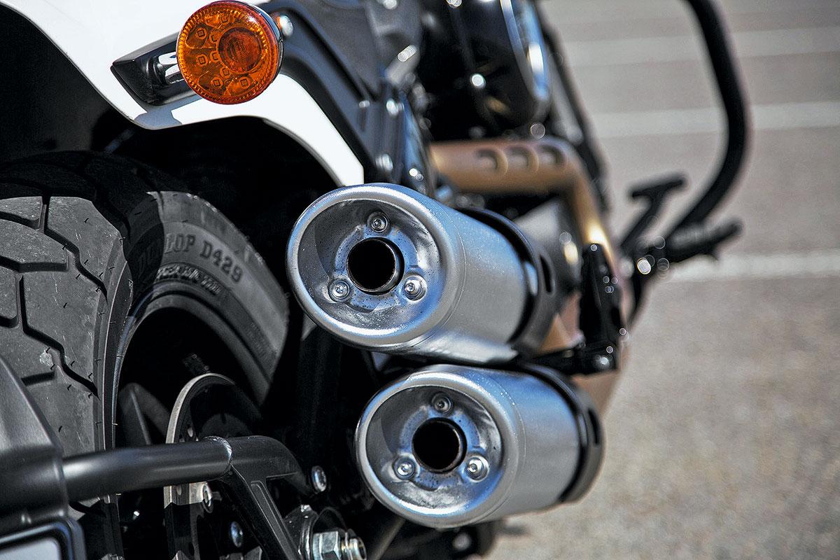 Тест Harley-Davidson Fat Bob. Вовсе и не толстый!
