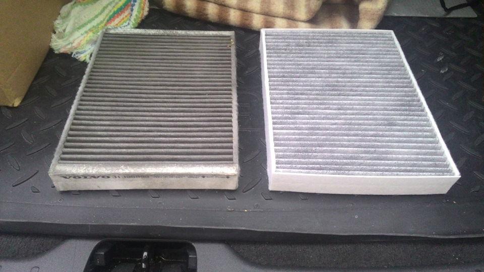 Правильная замена салонного фильтра Volvo XC60