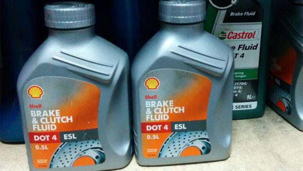 Тормозная жидкость Shell