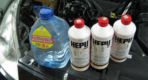 Антифриз HEPU. Гарантия качества