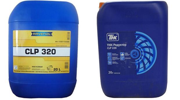 Редукторное масло CLP 320