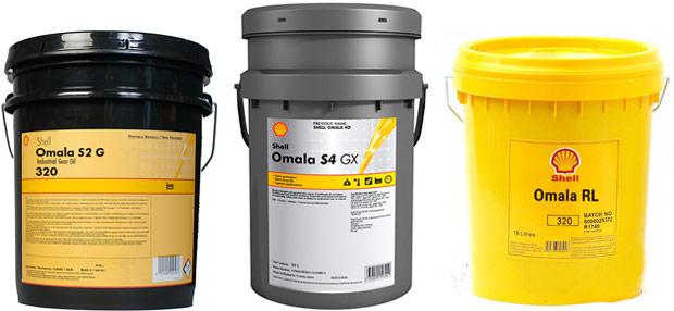 Редукторные масла Shell Omala
