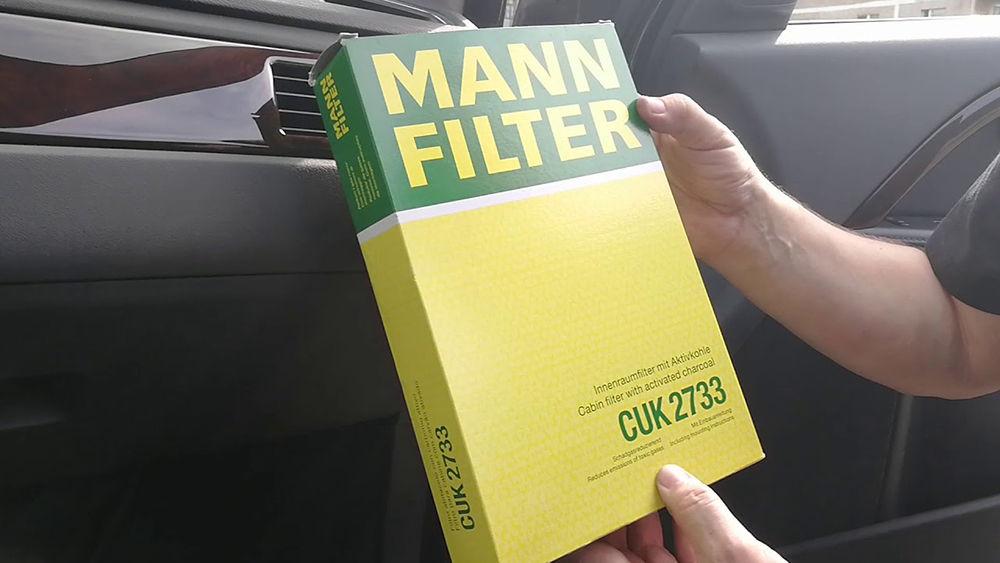 Как заменить салонный воздушный фильтр в Volvo XC90
