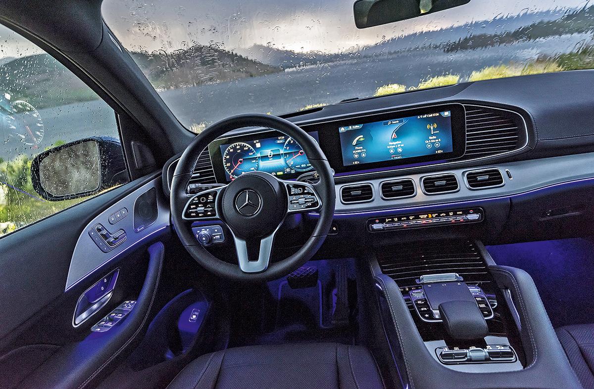 Тест-драйв нового Mercedes-Benz GLS. Матрица сломалась