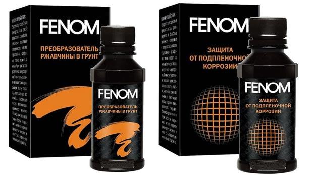 Преобразователь ржавчины Fenom. Отзывы