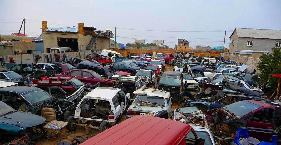 Выгодная продажа машины на запчасти
