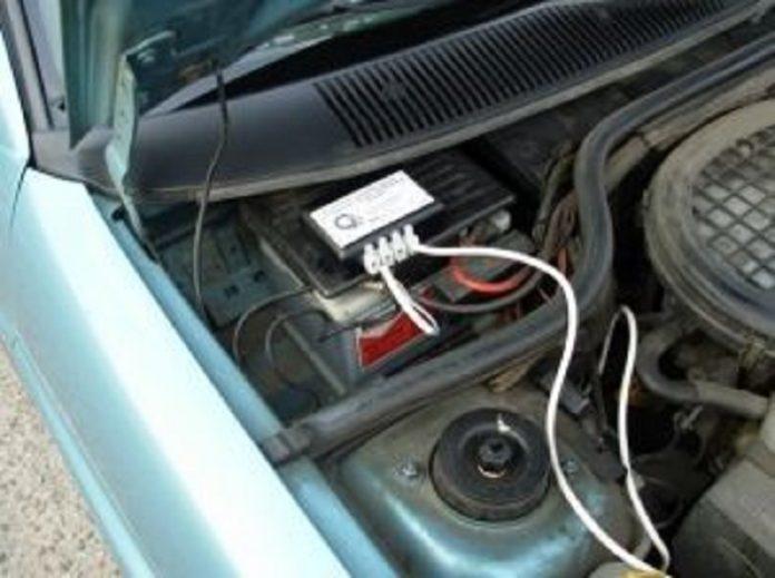 Электрохимическая защита машины