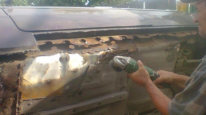 Инструкция по правильному уходу за днищем и его ремонту на ВАЗ 2107
