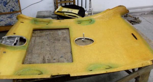 Как выполнить ремонт обшивки потолка в автомобиле
