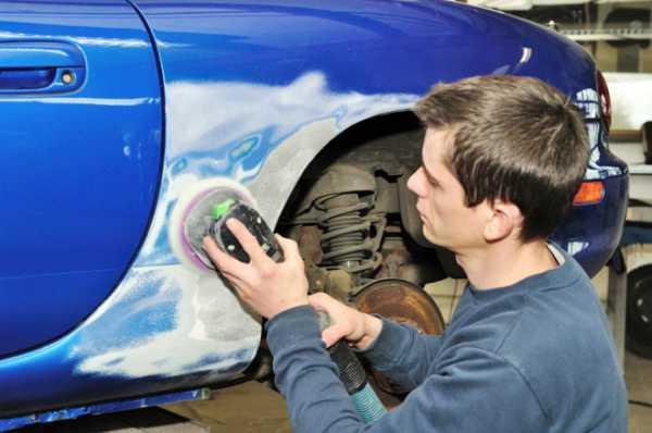 Метод окраски машины пятном: особенности и преимущества