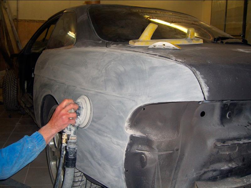 Грунтовка для авто и ее роль в ремонте