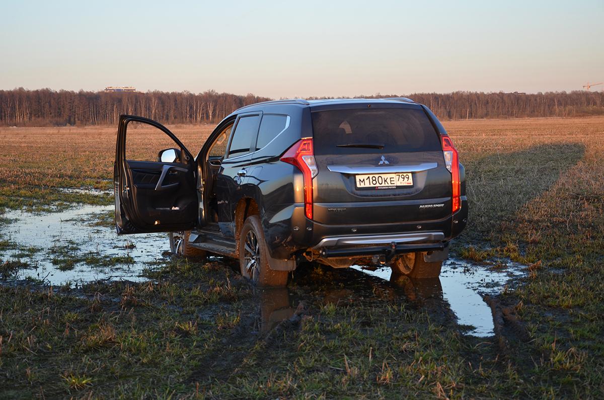 Длительный тест Mitsubishi Pajero Sport: испытание асфальтом и бездорожьем