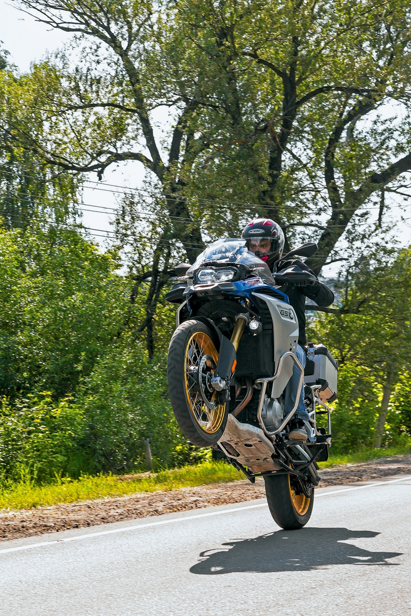 Тест BMW F 850 GS Adventure. «Гусь» на стероидах
