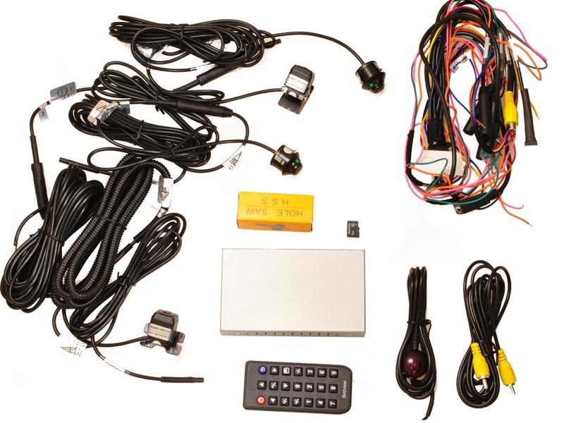 Выбор и самостоятельная установка системы кругового обзора на автомобиль
