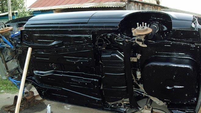 Особенности ремонта и переварки днища автомобиля ВАЗ 2110