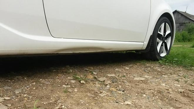 Как произвести ремонт порогов автомобиля без сварки своими руками