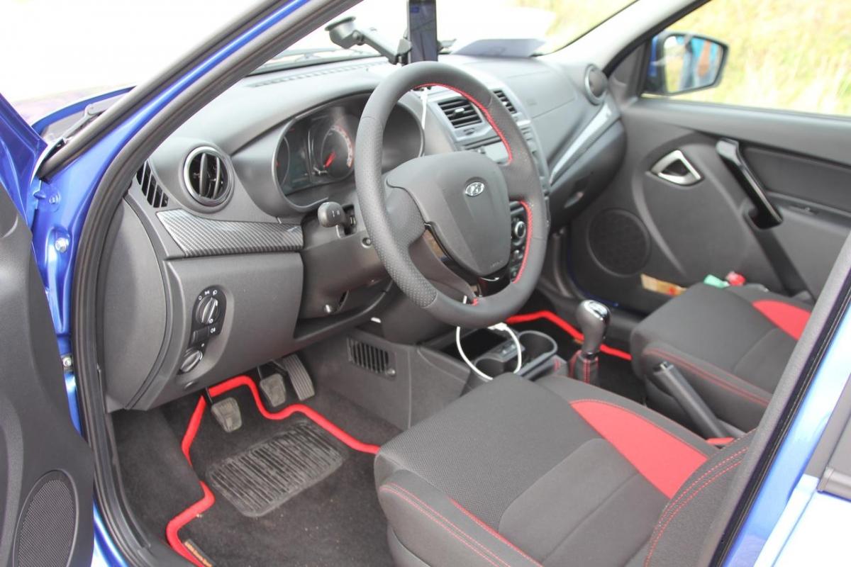 Lada Granta Drive Active показала спортивный характер