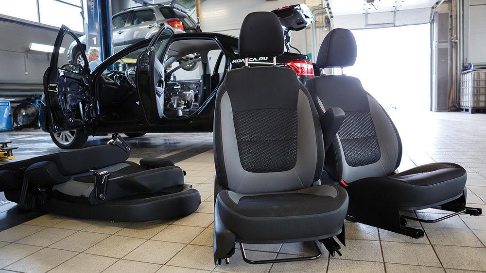 Как правильно сложить и разложить автомобильные сидения