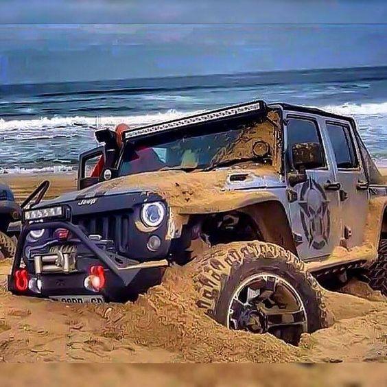 Как нельзя ездить по песку и снегу чтобы не застрять