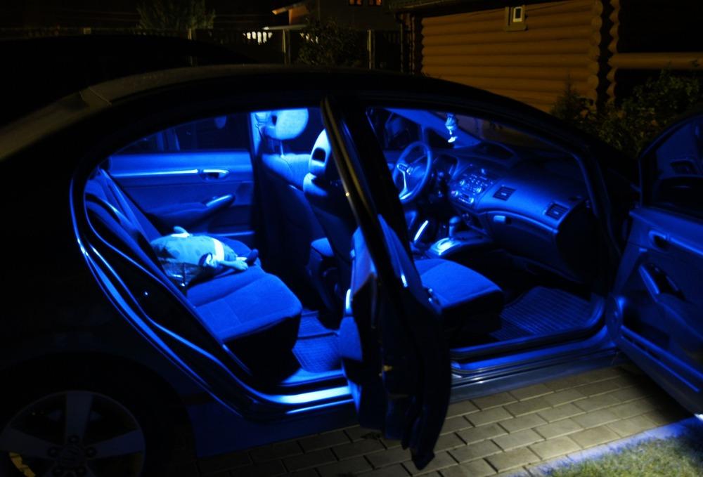Самостоятельная установка вежливой подсветки в автосалоне