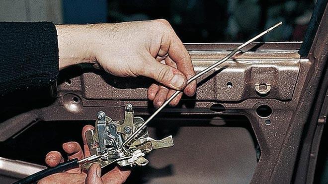 Подробная инструкция: ремонт и замена замков в дверях автомобиля ВАЗ 2110