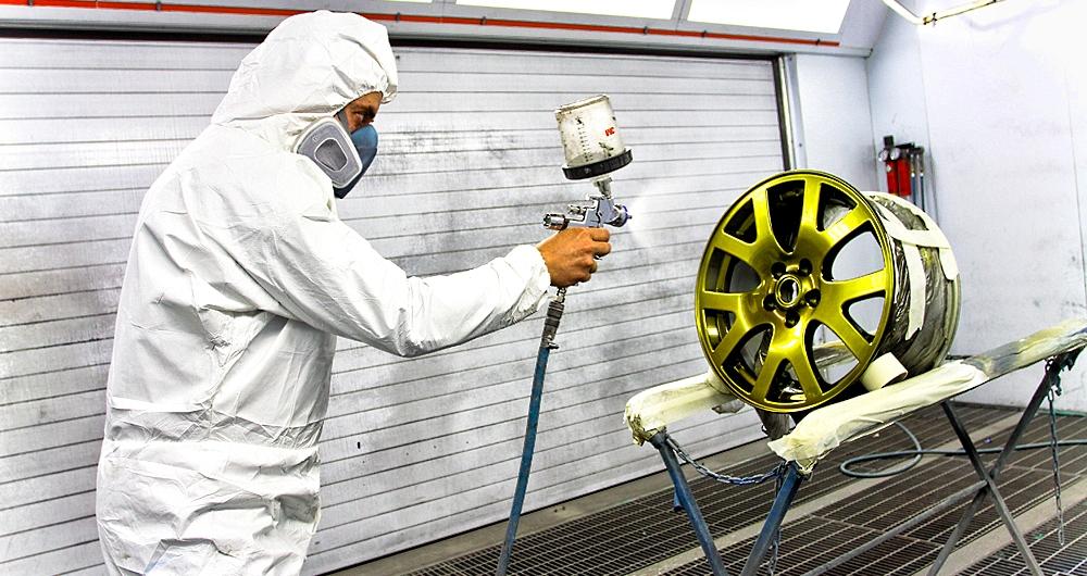 Преимущества порошковой покраски автомобильных дисков