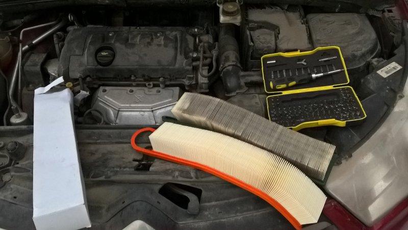 Периодичность и состав работ в рамках ТО Citroën C4
