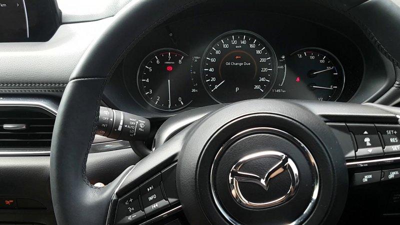 Как делать сброс сервисного интервала для Mazda CX-5